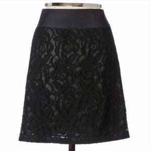 Anthropologie Moulinette Soeurs lace skirt